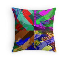 Psychedelic Panels  Throw Pillow