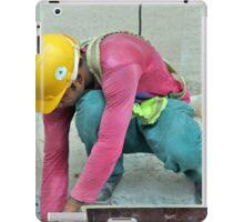 Hard Work, Hard Hat iPad Case/Skin
