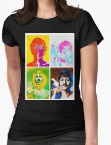John, Paul, Ringo and Goerge Womens Fitted T-Shirt