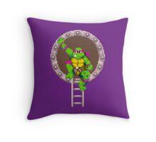 TURTLES IN TIME - DONATELLO Throw Pillow