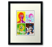 John, Paul, Ringo and Goerge Framed Print