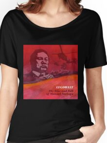 legowelt the rise and fall of manuel noriega Women's Relaxed Fit T-Shirt