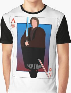 Star Wars Playing Card Graphic T-Shirt