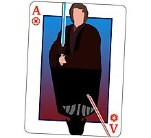 Star Wars Playing Card Photographic Print