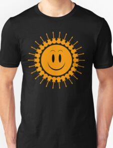 Guitars sun orange Unisex T-Shirt