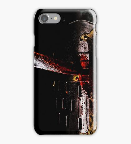 Chink in one's armour iPhone Case/Skin