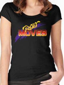 Power Moves Women's Fitted Scoop T-Shirt