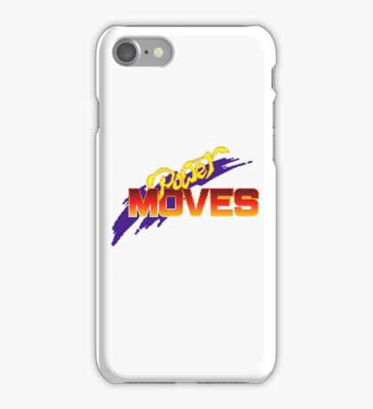 Power Moves - SNES Title Screen iPhone Case/Skin