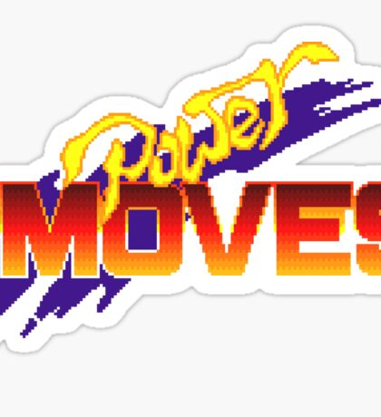 Power Moves - SNES Title Screen Sticker