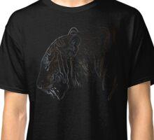 tiger, colored tiger shirt Classic T-Shirt
