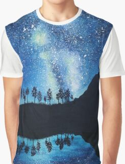 Milky Way Reflections Graphic T-Shirt