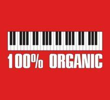 100 organic white Kids Tee