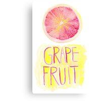 Grapefruit by VIXTOPHER Canvas Print