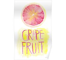 Grapefruit by VIXTOPHER Poster
