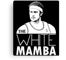 The White Mamba Canvas Print