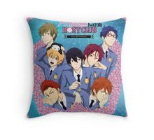 Free! Iwatobi Host Club Throw Pillow