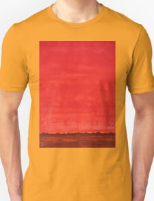 Sky High original painting Unisex T-Shirt