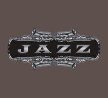 Jazz sax gray One Piece - Short Sleeve