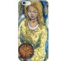 angelic time iPhone Case/Skin
