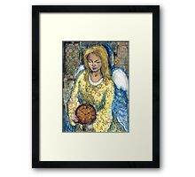 angelic time Framed Print