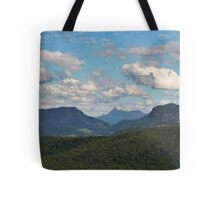 Beechmont ,from Rosins Lookout view to Mt WArning Tote Bag