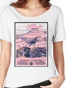 The Grand Canyon Women's Relaxed Fit T-Shirt