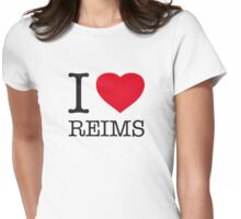 I ♥ REIMS Womens Fitted T-Shirt