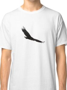 Hawk Flying To The Clouds Classic T-Shirt