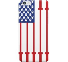 Barbell USA Flag Workout Shirt Merica iPhone Case/Skin
