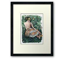 Délicat Framed Print