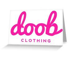Doob Designer Greeting Card