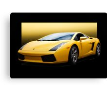 Exotic Italian Sports Car Canvas Print
