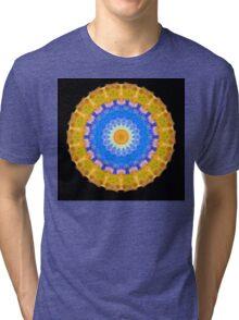 Sunrise Mandala Art - Sharon Cummings Tri-blend T-Shirt