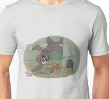Tom and Jerry Cross Stitch Unisex T-Shirt