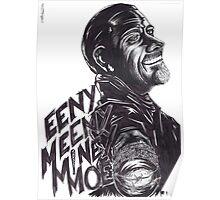 """Negan : """"EenyMeenyMineyMoe"""" Poster"""