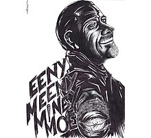 "Negan : ""EenyMeenyMineyMoe"" Photographic Print"