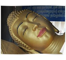 Facing Buddha Poster