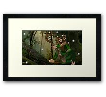Lorwyn Elf Hunter Framed Print
