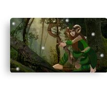Lorwyn Elf Hunter Canvas Print