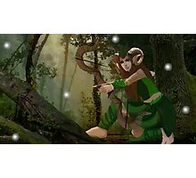 Lorwyn Elf Hunter Photographic Print