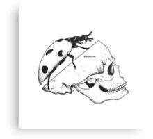 Skulldybug Canvas Print