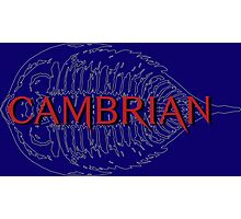 Cambrian band logo Photographic Print