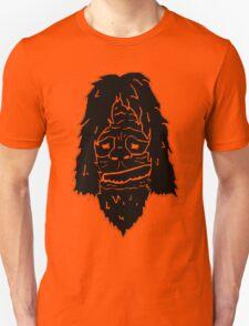 Sassy the Sasquatch - Black Unisex T-Shirt