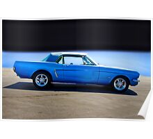 1965 Ford Mustang Convertible I Poster