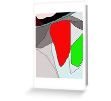 Abstract design by Moma Greeting Card