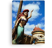 Under the Sea - Journey of The Little Mermaid Canvas Print