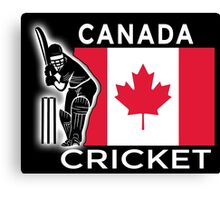 Canada Cricket Canvas Print