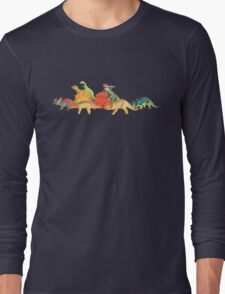 Walking With Dinosaurs Long Sleeve T-Shirt