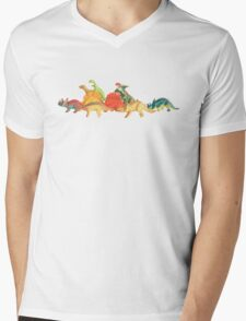 Walking With Dinosaurs Mens V-Neck T-Shirt