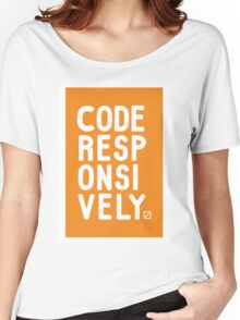 Code Responsively Women's Relaxed Fit T-Shirt